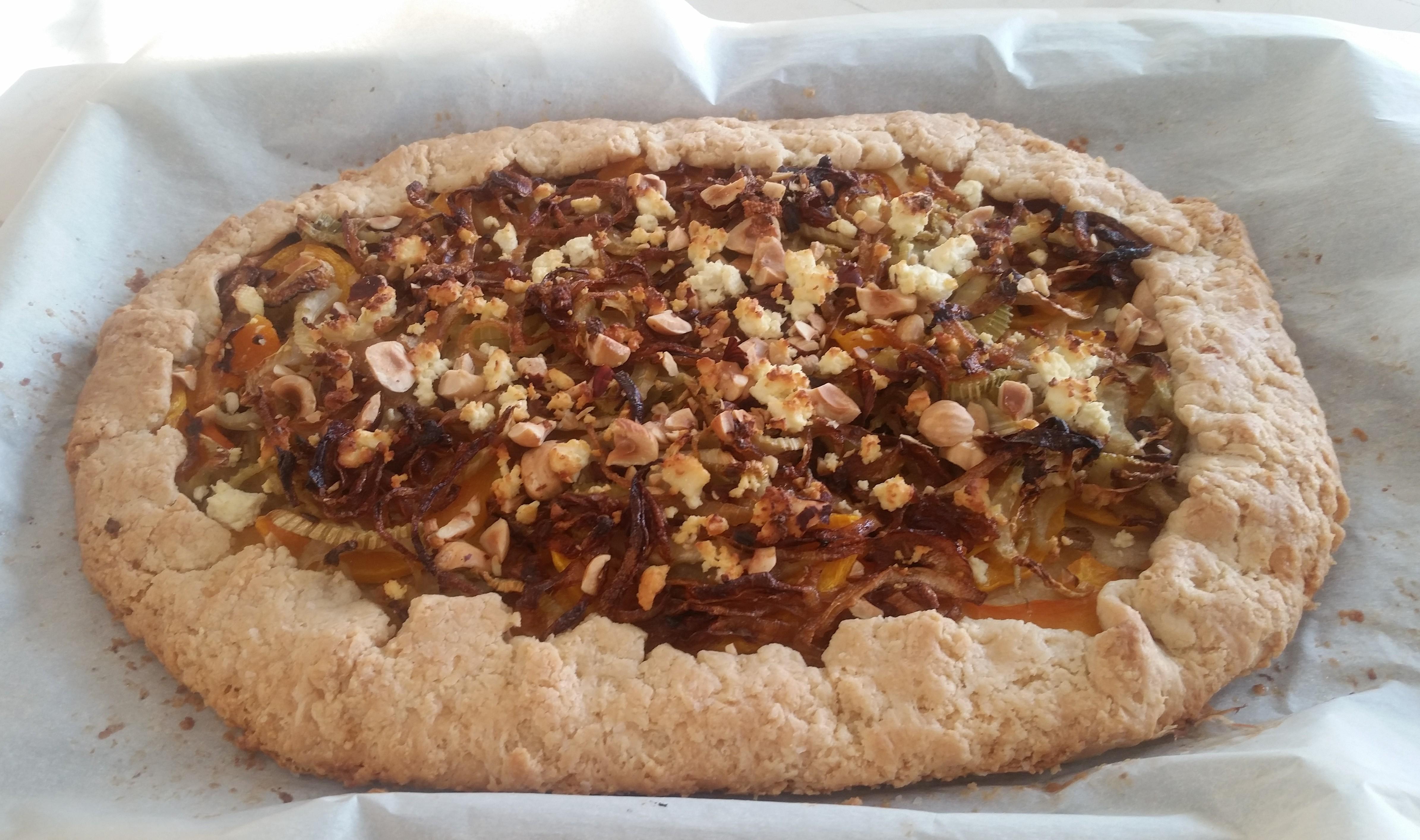 Caramelised Celery Tarte Tatin With Parmesan Crust Recipes ...